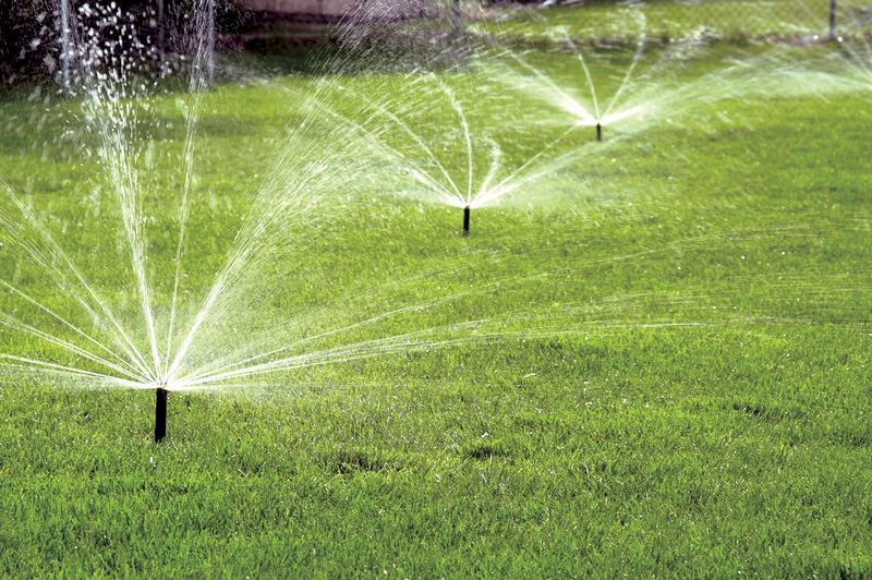 Sprinkler-irrigation